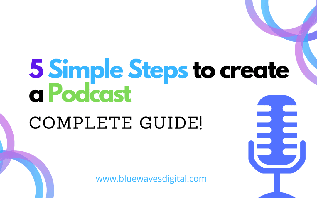 Podcast - How To Create One In 5 Simple Steps