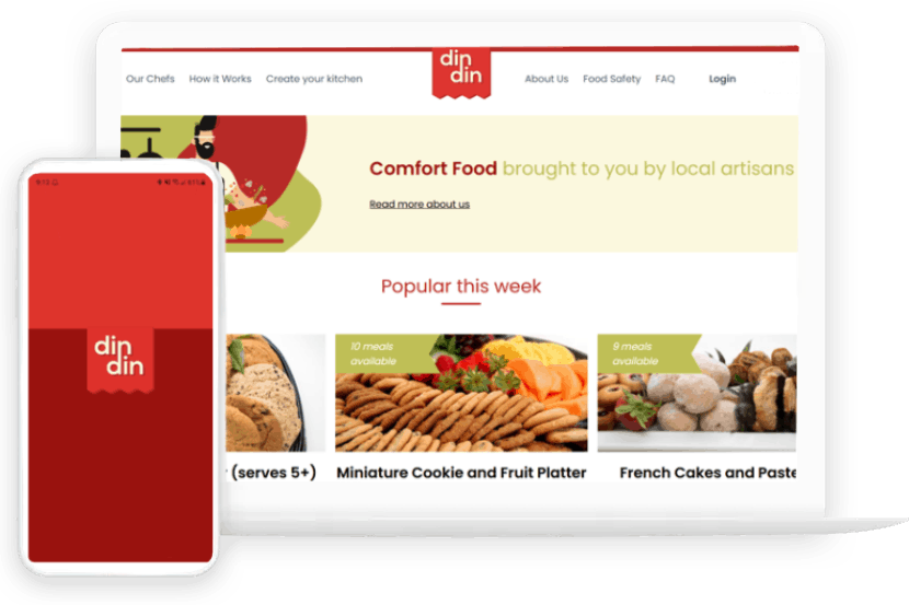 Featured Project - Din Din
