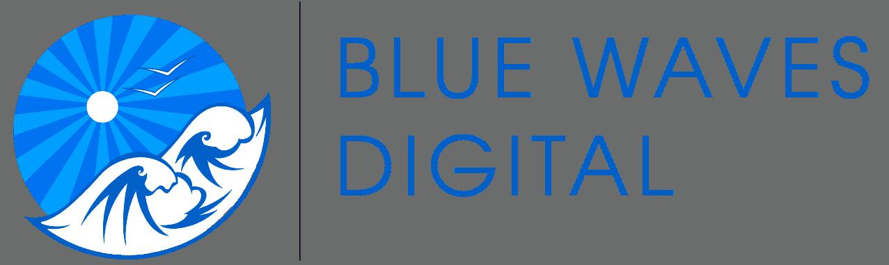 Blue Waves Digital Logo