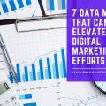 7 Data Metrics That Can Elevate Your Digital Marketing Efforts