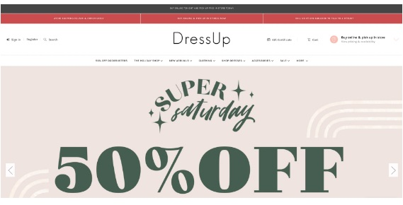 Sale on an ecommerce site - Ecommerce Websites