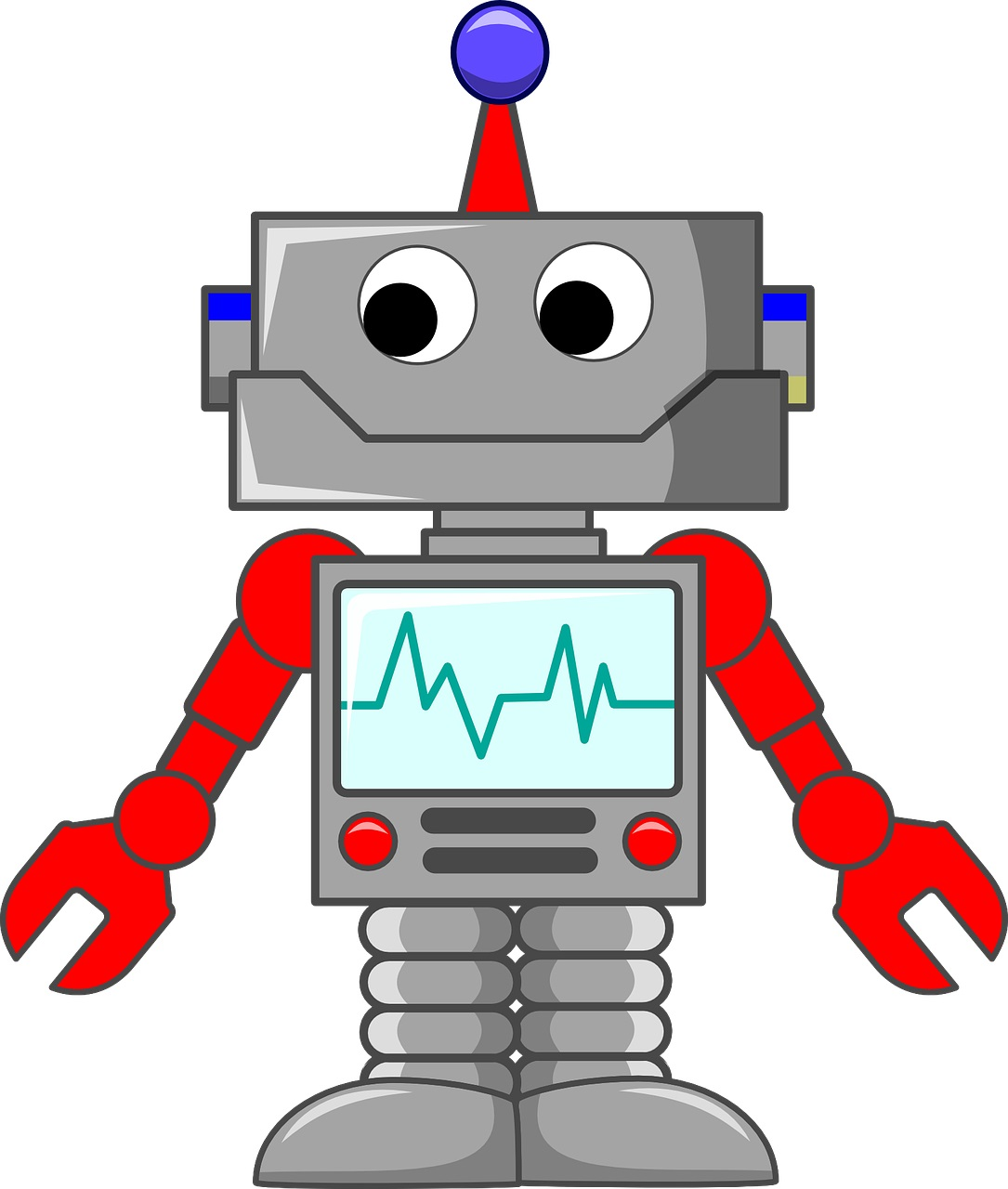 Illustration of a robot - Marketing Automations