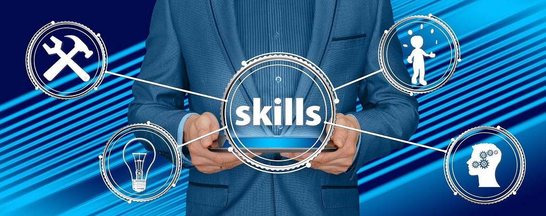 Image showing different parts of skills - digital marketing skills
