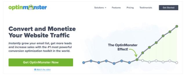 OptinMonster Webpage